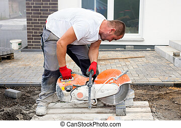 do góry szczelnie, worker., zbudowanie
