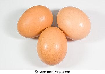do góry, tło, zamknięcie, jajko białe