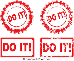 DO IT Rubber Stamp