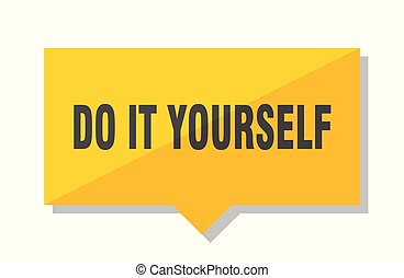 Do it yourself clip art vector graphics 1295 do it yourself eps do it yourself price tag do it yourself yellow square solutioingenieria Image collections