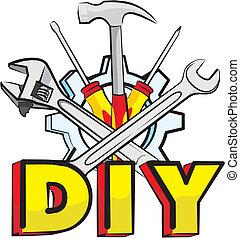do it yourself - tools - handyman hardware tools - hand...