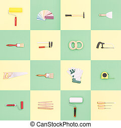 Do it yourself tools mosaic