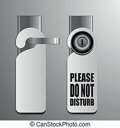 do not disturb door handles