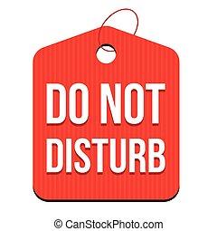 Do not disturb hanger