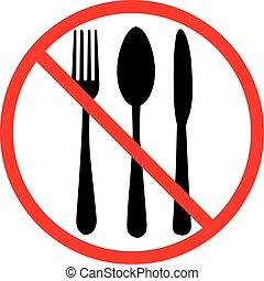 Do not eat icon
