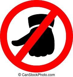 Do not like vector sign