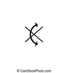 Do not roll symbol on white background - Do not roll symbol...