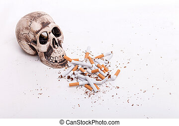 Do not smoke and you will be alive