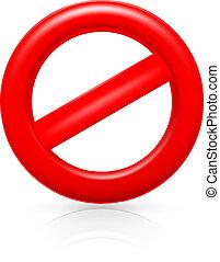 Do Not warning sign