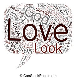 Do You Experience God text background wordcloud concept
