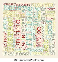 Do You Have What It Takes To Be An Affiliate Marketer 1 text background wordcloud concept