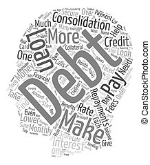 Do You Need Financial Help To Help With Monthly Bills text background wordcloud concept