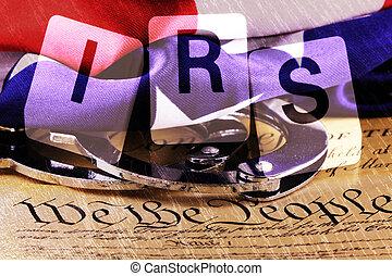 dobbel eksponering, amerikansk. forfatning