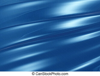 doblado, azul, estructura