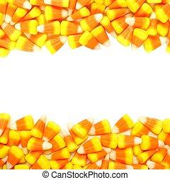 doble, maíz, halloween, frontera, dulce
