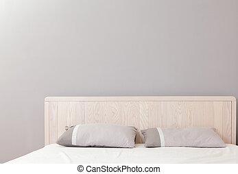 doble, moderno, dormitorio