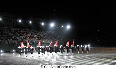 dobol corps, spasskaya, fesztivál, tető, bashnya, titkos, svájc, előadás, bizonyítás