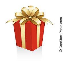 doboz, arany-, szalag, tehetség vonó