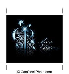 doboz, christmas ajándék