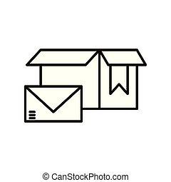 doboz, felszabadítás, kartondoboz, boríték, szolgáltatás