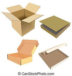 doboz, gyakorlatias, ábra