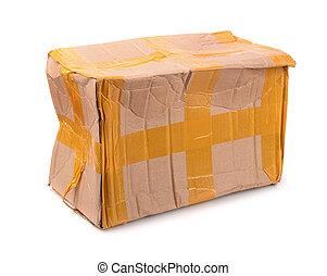 doboz, hibás, kartonpapír