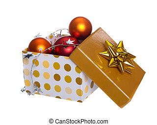 doboz, karácsony
