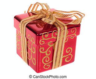 doboz, karácsonyi ajándék