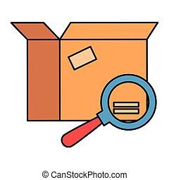 doboz, pohár, csomagolás, kartondoboz, magasztalás