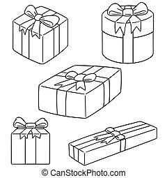 doboz, vektor, állhatatos, tehetség