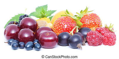 dobrany, świeży, jagody