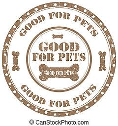 dobry, pets-stamp