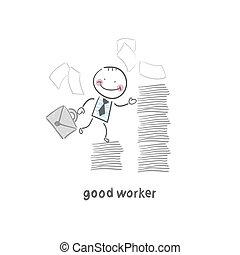 dobry, pracownik
