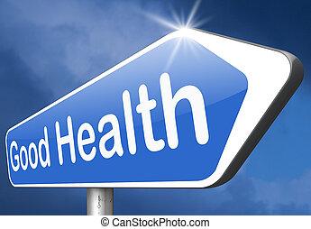dobry stan zdrowia