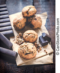 doce, biscoitos, chocolate