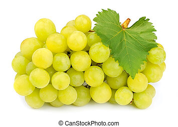 doce, maduro, uvas
