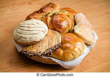 doce, Mexicano, pão