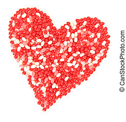 doce valentine, coração