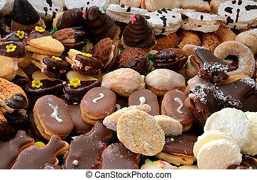 doces, biscoitos, natal