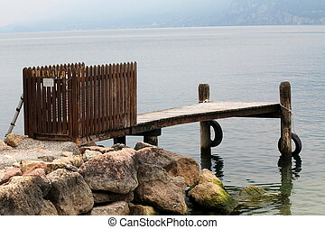 dock at lake