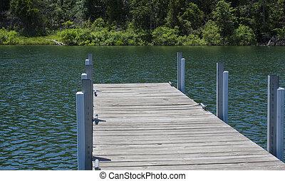 dock, bateau