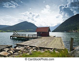 Dock Cabin