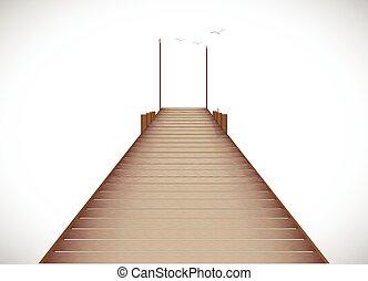 dock, illustration