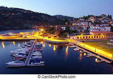 Dock in Douro River