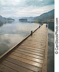 Dock in the Fjord