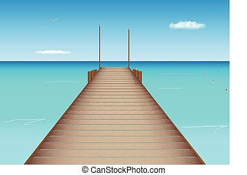 Dock in Tropical Location