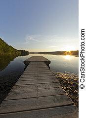 Dock Lake Fisheye Lens