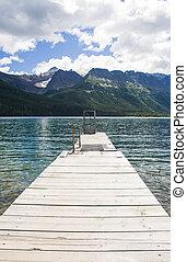 Dock on Mountain Lake