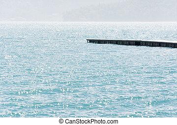 dock over water