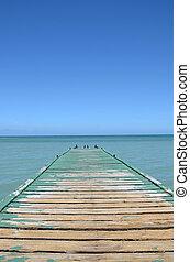 dock, vieux
